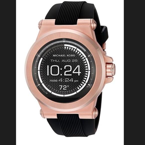 aaa414a4c5e6 MICHAEL KORS Access Dylan Rose Gold Smartwatch